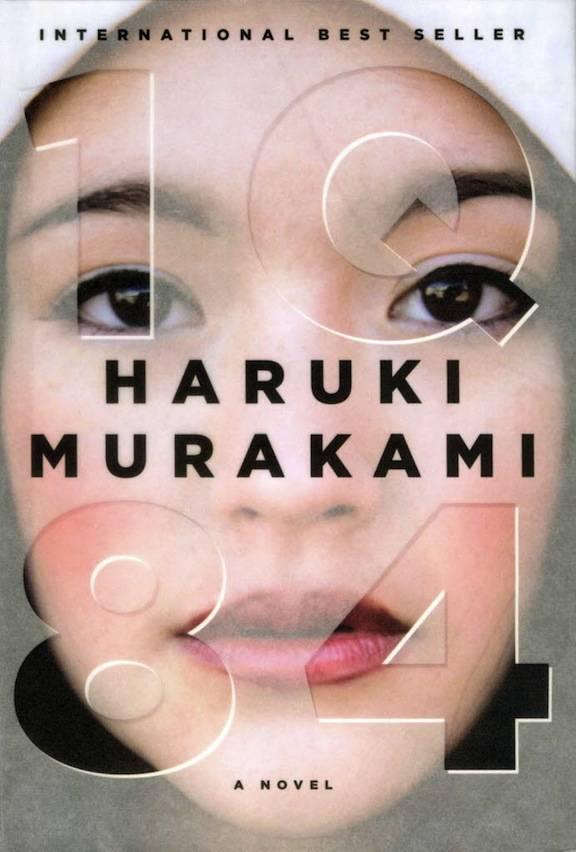 1q84 cover kapak haruki murakami