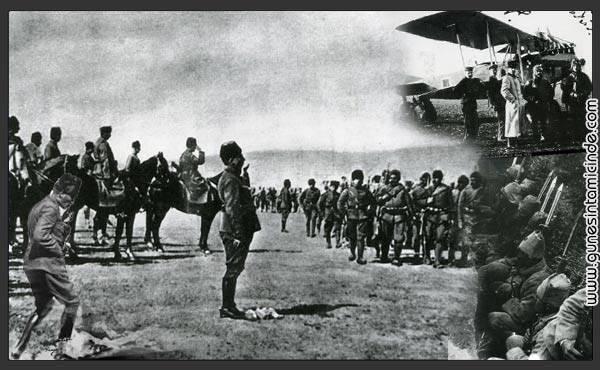 30agustos 1 Şimdi yokluk en zor soluklarını veriyor Ege'ye bakan Anadolu toprakları, sıcakla kurumuş topraklarının şehit kanıyla sulanacağını bilerek üzülüyordu. Ancak yer de, gök de bu dürüst ve evini koruyan orduylaydı. Herkes biliyordu ki bu son savaştı. Her şeyin kaderini değiştirecek son savaş. Tarihi soranlar için 30 Ağustos 1922'ydi. Şimdi yokluk en zor soluklarını veriyor Ege'ye bakan Anadolu toprakları, sıcakla kurumuş topraklarının şehit kanıyla sulanacağını bilerek üzülüyordu. Ancak yer de, gök de bu dürüst ve evini koruyan orduylaydı. Herkes biliyordu ki bu son savaştı. Her şeyin kaderini değiştirecek son savaş. Tarihi soranlar için 30 Ağustos 1922'ydi.