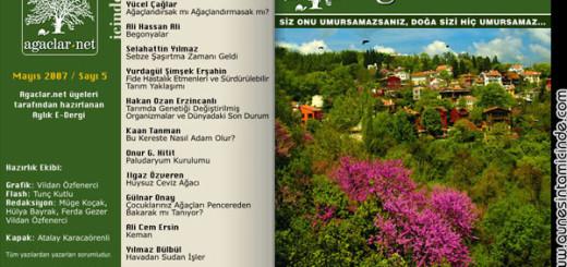 agaclar dergisi mayis
