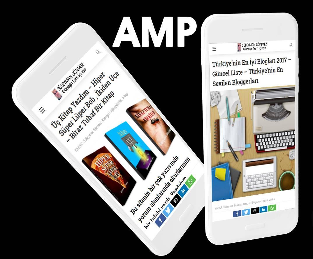 Photo of Websitenize AMP Nasıl Kurarsınız? AMP ile Siteler Cep Telefonu için Hızlı ve Kullanışlı Oluyor | WordPress İçin AMP Pluginleri