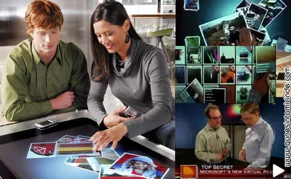billamcaninmasasi Bill Gatesten Akıllı Masa | Microsoft Surface Computer
