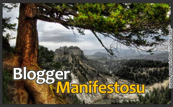 Photo of Blogger Manifestosu