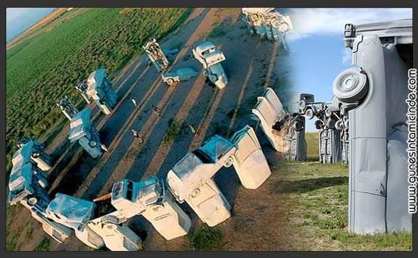 Photo of Carhenge | Otomobillerin Stonehenge'i