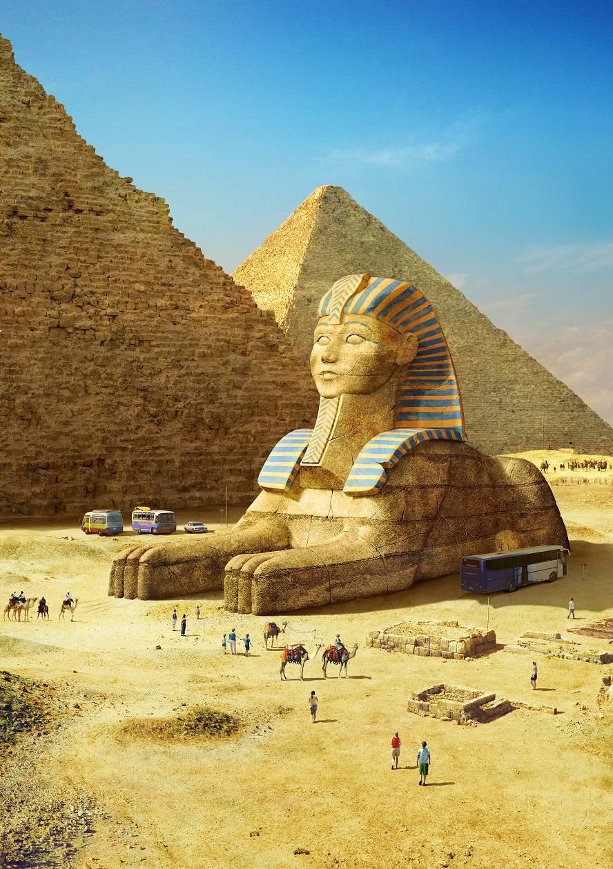 Antik Dünyanın Harikaları Bugüne Gelseydi