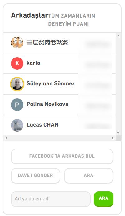 duolingo arkadas davet bulma Öncelikle yabancı dil öğrenmek için herkesin farklı bir öğrenme şekline yatkınlığı olduğu ortada ancak Duolingo'nun bir çok ödül alan yenilikçi öğretme yöntemine sahip olduğunu söylemeliyim. Ben yazıyı yazdığımda 300 milyondan fazla kullanıcısı vardı. Öncelikle yabancı dil öğrenmek için herkesin farklı bir öğrenme şekline yatkınlığı olduğu ortada ancak Duolingo'nun bir çok ödül alan yenilikçi öğretme yöntemine sahip olduğunu söylemeliyim. Ben yazıyı yazdığımda 300 milyondan fazla kullanıcısı vardı.