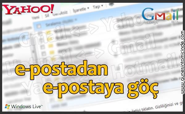Photo of E-mailden E-maile Göç