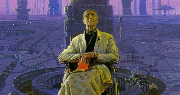 foundation Asimov, müthiş bir dünyayı hem ilk kez anlatan, hem en insani boyutta, hem de maceralarla doldurararak anlatan kişidir. Asimov, müthiş bir dünyayı hem ilk kez anlatan, hem en insani boyutta, hem de maceralarla doldurararak anlatan kişidir.