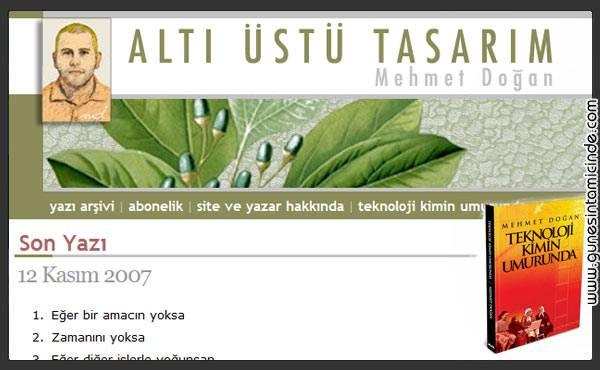 Photo of Güle Güle Mehmet Doğan Ya da Altı Üstü Tasarım