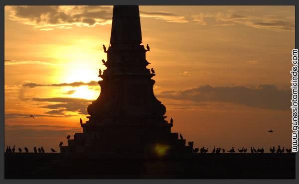 Süleyman Sönmez - Güneşin Tam İçinde guneseselam Güneşe Selam! Duvar Kağıdı Fotoğraf  Şiir nikon d80 Kuşlar istanbul Haydarpaşa Garı Güneş Günbatımı Fotoğraf