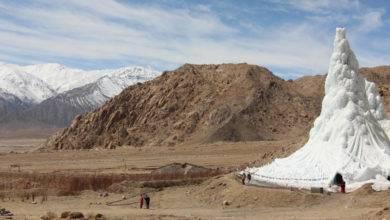 Photo of Tibet Çölünde Buz Kuleleri | Susuzlukla Mücadele | Ice Stupa