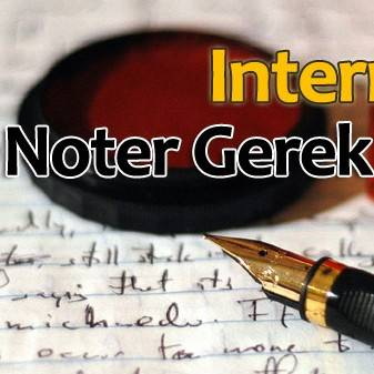 Photo of Internet'e Noter Gerek!