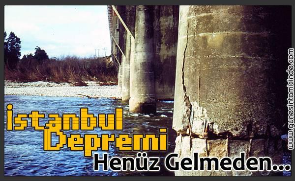 istanbuldepremigelmeden İstanbul metropolü söz konusu olduğunda depremin etkisinin çok çok farklı oluşacağı ortada. Çünkü geniş bir alana yayılmış kentin her noktasındaki imar kalitesi farklı. Son deprem düzenlemesine göre yapılmış oldukça güçlü binalar olduğu gibi gecekondu şeklinde kurulmuş veya kaçak yapılaşmayla imarı olmayan binlerce konut bulunuyor. İstanbul metropolü söz konusu olduğunda depremin etkisinin çok çok farklı oluşacağı ortada. Çünkü geniş bir alana yayılmış kentin her noktasındaki imar kalitesi farklı. Son deprem düzenlemesine göre yapılmış oldukça güçlü binalar olduğu gibi gecekondu şeklinde kurulmuş veya kaçak yapılaşmayla imarı olmayan binlerce konut bulunuyor.