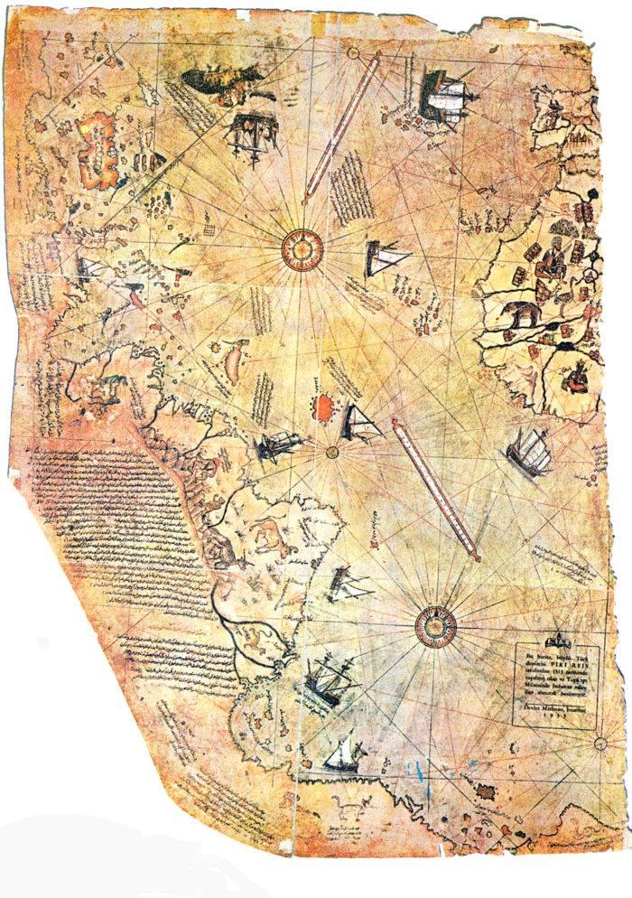 piri reis map 1 e1588459449974 Piri Reis muhteşem bir Osmanlı Denizcisi, harita bilimci ve Donanma komutanı. Aşağıdaki linkten, Kitab-ı Bahriye'nin dijital e-kitap PDF kopyası satın alınabilir Piri Reis muhteşem bir Osmanlı Denizcisi, harita bilimci ve Donanma komutanı. Aşağıdaki linkten, Kitab-ı Bahriye'nin dijital e-kitap PDF kopyası satın alınabilir