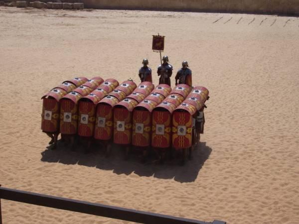 roman legion formation 600x450 Webden Avladım 10 Site   1