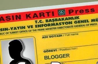 Photo of Sarı Basın Kartlı Blog Yazarları