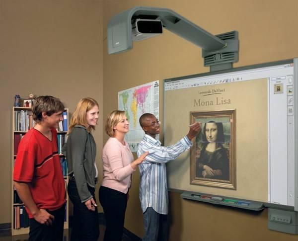 smart board 600i e1265718576564 Eğitim İçin Teknolojik Cihazlar | Eğitimde Yenilikler 3