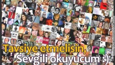 Photo of Tavsiye Etmelisin, Sevgili Okuyucum!
