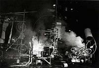Süleyman Sönmez - Güneşin Tam İçinde tinguelyhomageny Jean Tinguely Müzesi İsviçre, Basel Bilim ve Teknoloji Gezi Kültür ve Sanat Maker / Mucit  İsviçre Sanat Müze Jean Tinguely bilim Basel