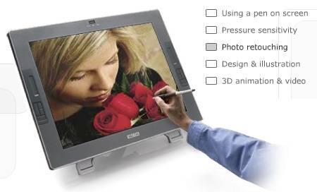 wacomekran Ekrana doğrudan kalemle çizmek, çizerken de her çeşit boya, fırça özelliğinden yararlanmak nefis olurdu değil mi? Bu teknoloji WACOM tarafından sunuluyor bize. Ekrana doğrudan kalemle çizmek, çizerken de her çeşit boya, fırça özelliğinden yararlanmak nefis olurdu değil mi? Bu teknoloji WACOM tarafından sunuluyor bize.