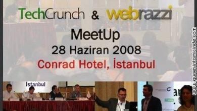 Photo of TechCrunch & Webrazzi MeetUp Etkinliğindeydim