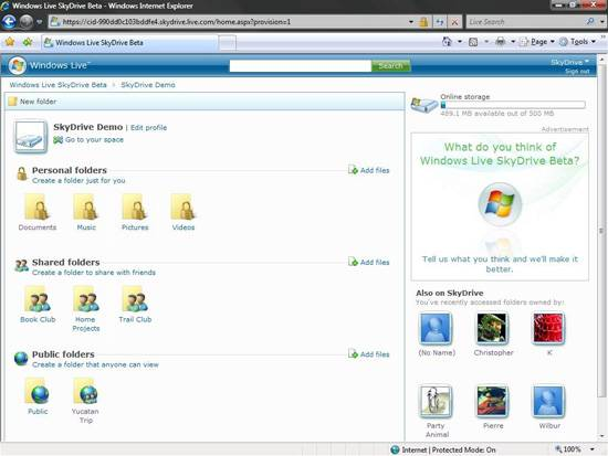 windows live skydrive Teknoloji Trendleri   2010