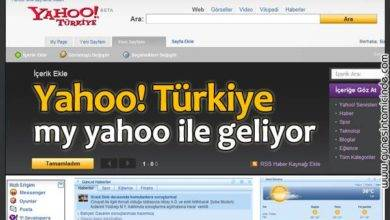 Photo of Yahoo Türkiye Geliyor!