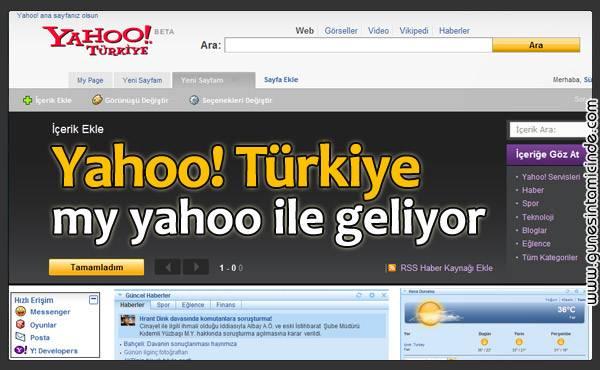 yahooturkiye Sıcak bir insan olan Volkan Bey oldukça detaylı şekilde Yahoo!'nun planlarını anlatmıştı. Beta çıkana dek yazmayı ertelemeye karar vermiştim ki, bugün twitter üzerinden takip ettiğim YahooTurkey twitter 'da Beta / deneme sürümünün açıldığını gördüm. Sıcak bir insan olan Volkan Bey oldukça detaylı şekilde Yahoo!'nun planlarını anlatmıştı. Beta çıkana dek yazmayı ertelemeye karar vermiştim ki, bugün twitter üzerinden takip ettiğim YahooTurkey twitter 'da Beta / deneme sürümünün açıldığını gördüm.